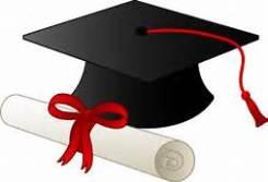 graduate in red