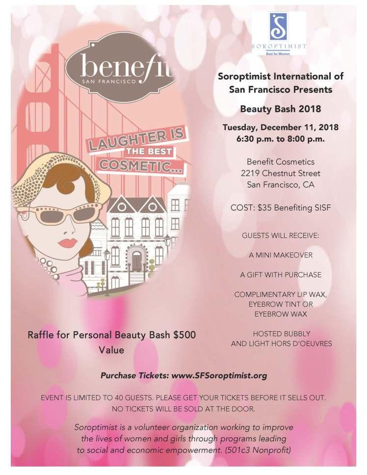 Beauty Bash SISF 2018 Flyer
